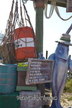 Hidden Mickey at Castaway Cay