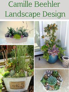 Camille Beehler Landscape Design: creative planting designs and more