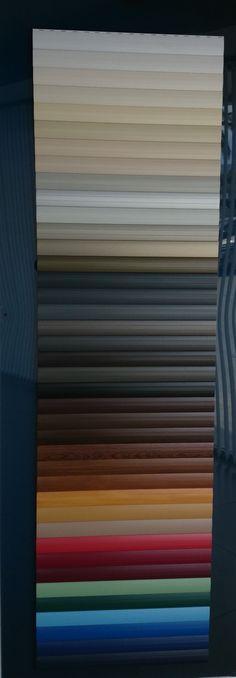 Colores de #persianas