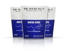 Dr. Mercola's Natural Dental Floss - nontoxic and plastic-free!