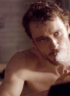 Michael Fassbender, as Bobby Sands (1954-1981), in Hunger, dir. Steve McQueen (2009). -- Bobby Sands, IRA activist, and Member of Parliament died from hunger strike under Thatcher government. Clic 2X