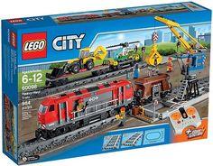LEGO City 60098 Těžký nákladní vlak   3998,- Kč