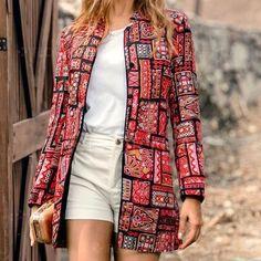 Scoop Neck Side Vented Plain T-Shirt Casual Dress Mode Mantel, Retro Fashion, Womens Fashion, Coats For Women, Casual Shirts, Street Style, Long Sleeve, Sleeves, Slim