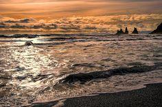 Vik Sunset - Sunset at Vik Iceland