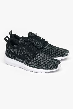 cheap for discount 513f8 fd024 Nike   Mens Fly Knit Roshe Run - Black - Superette   Your Fashion  Destination.
