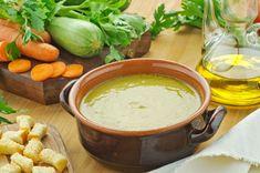 Η χορτόσουπα βελουτέ είναι δελεαστική. Όταν όμως φτιάχνεται με Βιολογικό Εξαιρετικά Παρθένο Ελαιόλαδο και Γραβιέρα Χωριό είναι ακαταμάχητη! Δοκιμάστε τη!