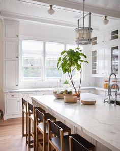 "White Hamptons Kitchen #timothygodbold photo: #alechemer"""