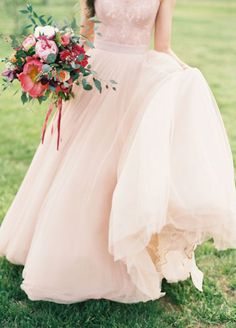 10 Colored Wedding Dresses For The Non Traditional Bride