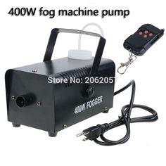 48.00$  Buy now - Hot sale mini 400W Wireless remote control fog machine pump dj disco smoke machine wedding party stage Lampblack machine  #bestbuy