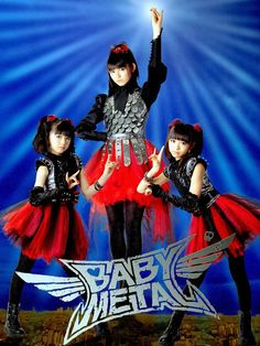 This is why I love Japan! #babymetal. they are the most adorable thing ever even though I don't understand half of what they are saying!!!!