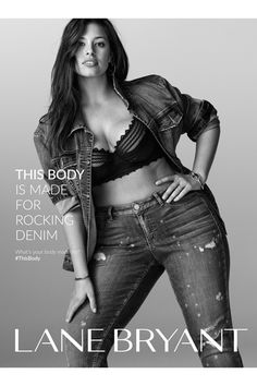 Ashley Graham for Lane Bryant This Body Campaign
