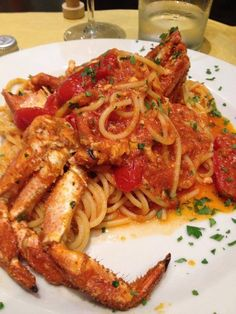 Spaghetti al Granchio (via ITALY)