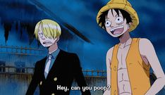 Love Luffy's question, Sanji's reaction and Brook's answer