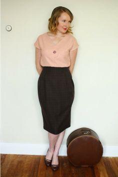 Jennifer Lauren Vintage: The Afternoon Blouse - Pattern Release Sneak Peek...