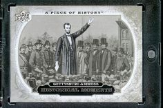 2008 Upper Deck (UD) A Piece of History # 158 Gettysburg Address (Historical Moment) MLB Baseball Trading Card by Upper Deck. $1.87. 2008 Upper Deck (UD) A Piece of History # 158 Gettysburg Address (Historical Moment) MLB Baseball Trading Card