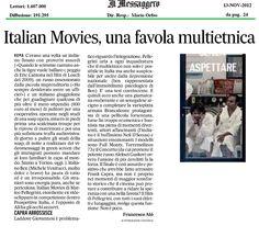 Il Messaggero - 13 novembre 2012
