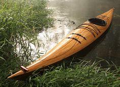 Cedar Strip Wood Kayak