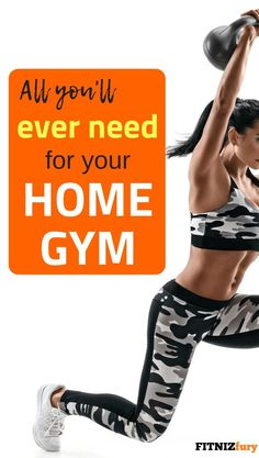 Workout Plan All you will ever need for your home gym Cheap Home Gym, At Home Gym, Fun Workouts, At Home Workouts, Gym Workout Plan For Women, Workout Plans, Workout Challenge, Workout Guide, Workout Gear