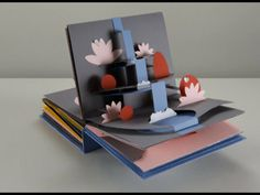 Stop Motion Pop Up book CARD
