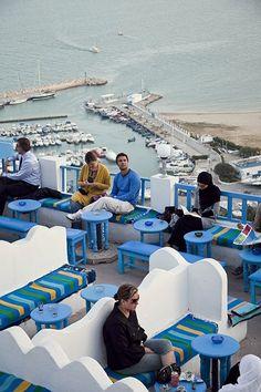 Sidi bou said café des nattes