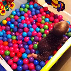 Ball pit in pack n' play
