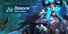 What do you think of Derock? Let us know in today's Hero Feedback Post! Moba Legends, Mobile Game, Hero, Let It Be, Games, Anime, Movie Posters, Movies, Plays