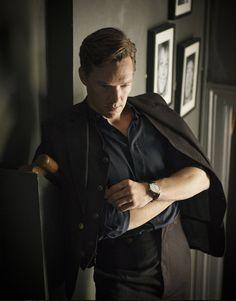(High res.) Benedict Cumberbatch by David Goldman for Flaunt Magazine.