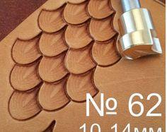 Outils pour lartisanat en cuir. Timbre 62 par LeatherStampsTools