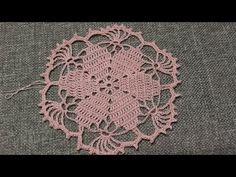 Flor para Blusa Crochet - YouTube