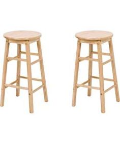 Buy Argos Home Pair of Solid Wood Kitchen Stools at Argos. Thousands of products for same day delivery or fast store collection. Wooden Kitchen Stools, Industrial Bar Stools, Breakfast Bar Chairs, Whimsical Painted Furniture, Paint Bar, Solid Wood Kitchens, Plastic Adirondack Chairs, Small Accent Chairs, Wood Stool