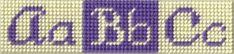 Plastic Canvas Alphabet Patterns - Letter Patterns