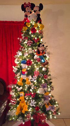 disney christmas tree mickey mouse mickey mouse christmas tree disney christmas decorations christmas tree - Disney Christmas Tree Decorations
