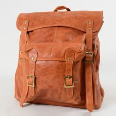 Richmond Leather Backpack