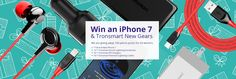 Win an iPhone 7 and 99 picecs tronsmart gears
