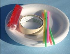 Foam Plate and Plastic Straw Gliders Styrofoam Plates, Airplane Crafts, Model Airplanes, Gliders, Plastic, Flight Club, Inspire, Science, Kite