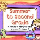 TOP 10 Seller! This pack includes everything your first graders need to review and remain ready for second grade over the summer.