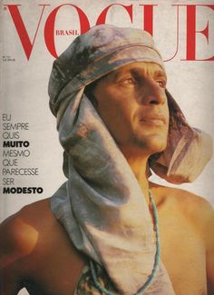 Vogue Brasil. Caetano - Regina Guerreiro V Magazine, Vogue Korea, Christy Turlington, Doutzen Kroes, Brazil Music, Cover Male, Mario Sorrenti, Fashion Photography, Guys