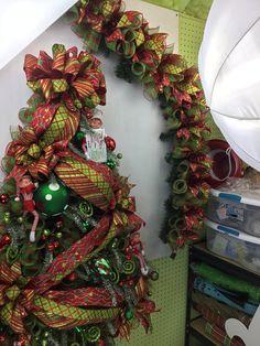 Huge Tree wreath in the works!