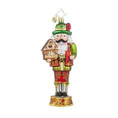Christopher Radko Bavarian Cracker Nutcracker Christmas Ornament