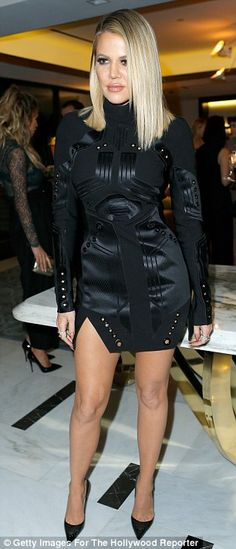 Meow! The fitness fanatic showcased her fabulous figure in the tight LBD...