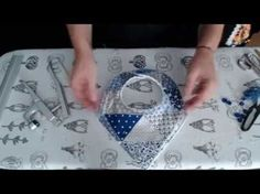 #Tutorial: babero bandana (triangular) - YouTube