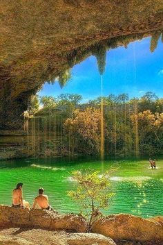 The famous Hamilton Pool Nature Preserve - Austin, Texas, USA