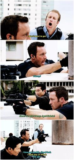 #mcdanno #danny williams #steve mcgarrett #hawaii five 0 #6.24 #lol poor danny
