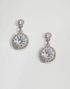 ASOS Premium WEDDING Glass Drop Earrings
