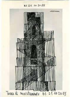 Beniamino Servino. Torre di avvistamento/Watchtower.