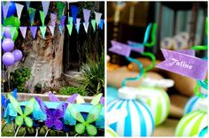 Pirates and Fairy Party ideas.