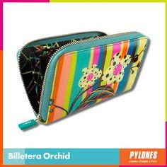 #Billetera Orchid #DíaDeLaMujer  Pylones Colombia