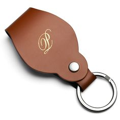 Refresh Leather Keychain Bridal Party Gift