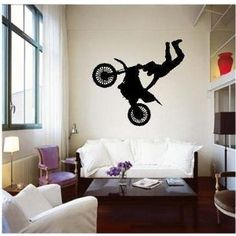 Wall decal for the baby boys room