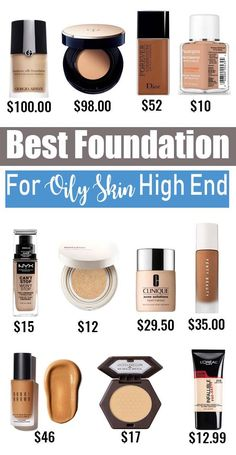 Best Foundation For Oily Skin Acne Prone Must Have – Getting oily skin is no tall tale. Between the myriad anti-shine makeup foundation and skin-care products you may use and the constant vigilant in Drugstore Powder Foundation, Best Drugstore Powder, Best Foundation For Oily Skin, Airbrush Foundation, Liquid Foundation, Makeup Foundation, Faces Cosmetics, Makeup Cosmetics, Greasy Skin